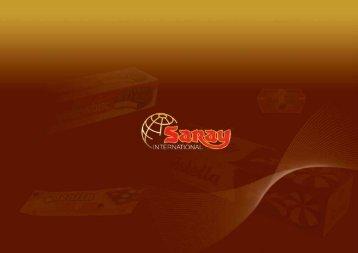 Nutrition Facts - Saray International AG