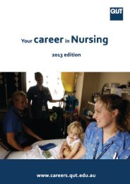 Nursing (PDF 34MB) - QUT Careers and Employment