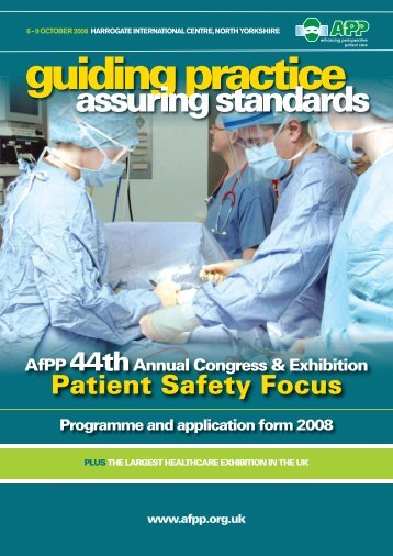assuring standards - Clinical Human Factors Group CHFG