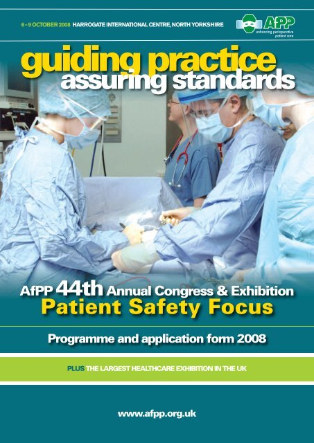 assuring standards - Clinical Human Factors Group CHFG