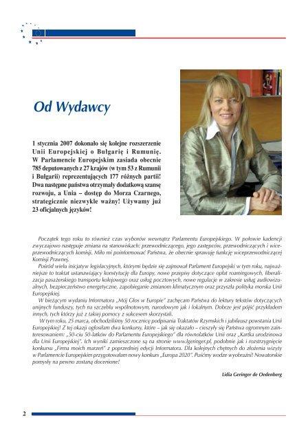 1% - Lidia Geringer de Oedenberg