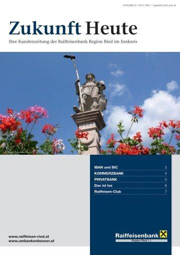 Zukunft Heute - umbankenbesser.at