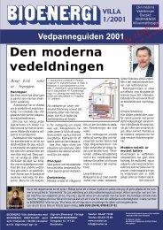 Den moderna vedeldningen, översikt / Bio 1-01 - Novator