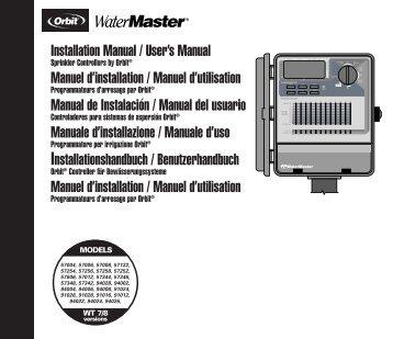 Centralina ORBIT ibrida serie 94000 e 94020 - Irrigarden