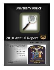 2010 Annual Report - Oswego