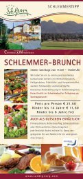 Schlemmer-Brunch - St. Georg