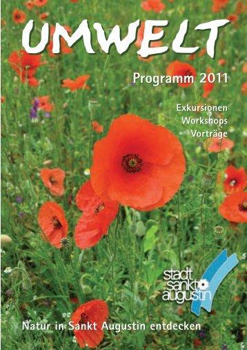 Programm 2011 - Stadt Sankt Augustin