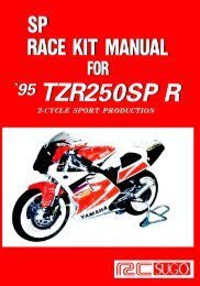 SP RAGE KIT MANUAL - pure-2-stroke-spirit.info