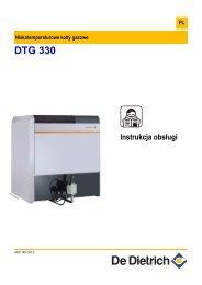 Instrukcja obsługi DTG 330 - De Dietrich