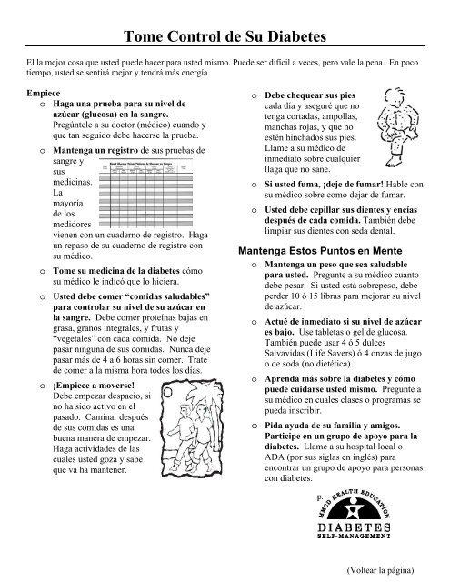 diabetes libro de registro de azúcar en la sangre gratis
