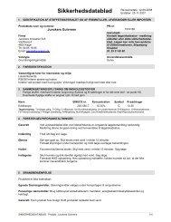 Sikkerhedsdatablad (2) - Carl Ras