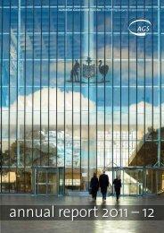 annual report 2011 – 12 - Australian Government Solicitor