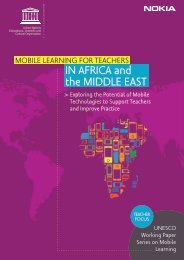 Mobile learning for teachers in Africa and the Middle East: exploring ...