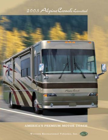 AMERICA'S PREMIUM MOTOR COACH - Alpine Coach Association