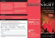 ProgrAmm - Classicsnight