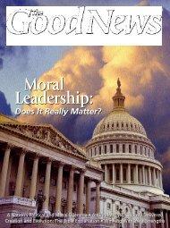 Moral Leadership: Moral Leadership: - United Church of God