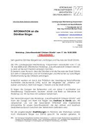 INFORMATION an die Dömitzer Bürger ... - Initiative LuK e.V.