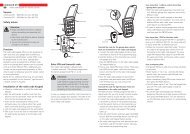 Command 231 Version Safety advice Function ... - Sparesmaster