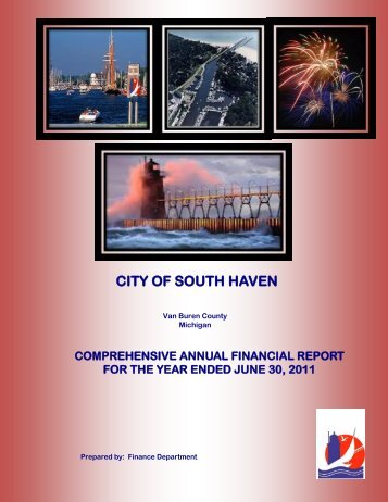 2011 Comprehensive Annual Financial Report - City of South Haven