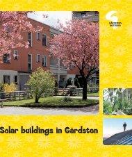 Solar buildings in Gårdsten - Gårdstensbostäder