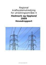 Regional kraftsystemutredning for ... - Eidsiva Energi