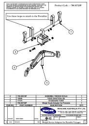 Use these loops to attach to the Portables Product Code ... - Invacare