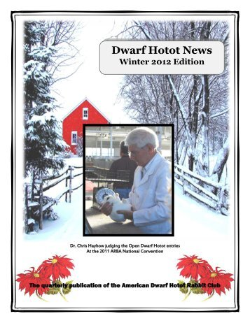 Dwarf Hotot News - the American Dwarf Hotot Rabbit Club