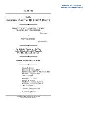 Reply Brief for Petitioner Deborah Morse - Oyez