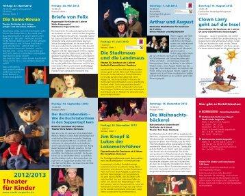 Prospekt Kindertheater - Stadt Sankt Augustin