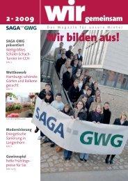 Das Magazin für unsere Mieter Wir bilden aus - SAGA-GWG