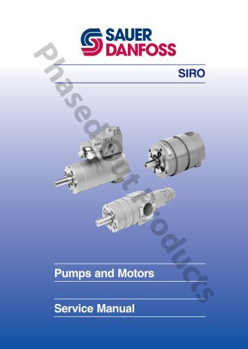 SIRO Pumps and Motors - Sauer-Danfoss