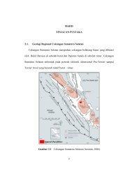 5 BAB II TINJAUAN PUSTAKA 2.1. Geologi Regional Cekungan ...