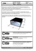 MDNC-1 - Contrôleur de réseau de détecteurs de métaux - Ceia - Page 2