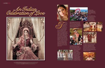 An Indian Celebration of Love - Elegant Living Magazine