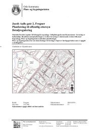 Jacob Aalls gate 2, Frogner Planforslag til offentlig ettersyn ...