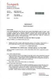 Územní rozhodnutí - Nový Malín