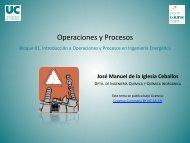 Operaciones y Procesos - OCW Universidad de Cantabria