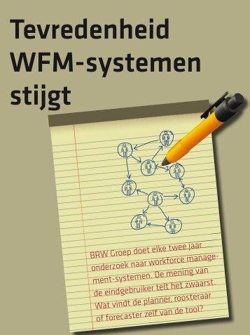 Tevredenheid WFM-systemen stijgt - Callcenter Makelaar