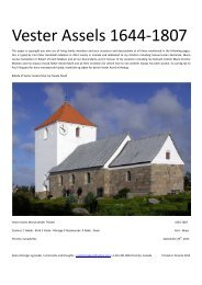 Vester Assels 1644 to1807 - DIS-Danmark
