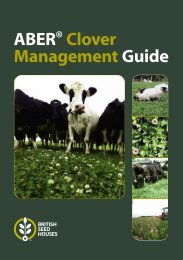to download our Clover Management Guide - British Seed Houses