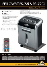 5400 PS-73i & PS-79Ci Shredder Sell Sheet 2009-2010 UK:Layout 1