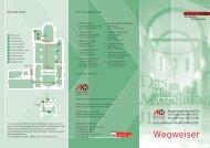 Wegweiser der Ausstellung - Angewandte Kunst Köln