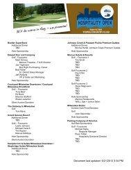 Document last updated: 6/21/2013 3:34 PM - Visit Milwaukee