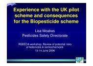 Download of slides - REBECA
