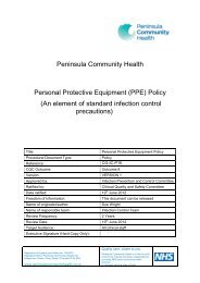 Personal Protective Equipment (PPE) Policy