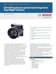 EX72N Explosion‑protected Integrated Day/Night Camera