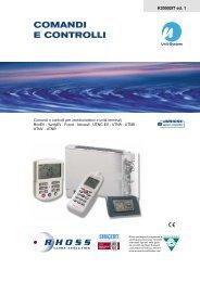 K20002-v01 Comandi e controlli ed Accessor (con UTNC) - Rhoss