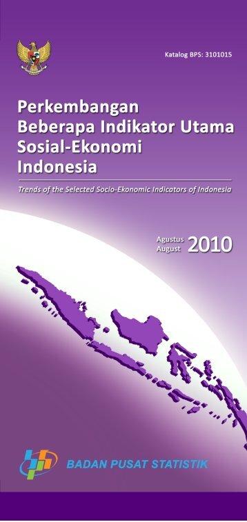 2010 - Badan Pusat Statistik