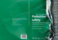 Pedestrian safety - World Health Organization
