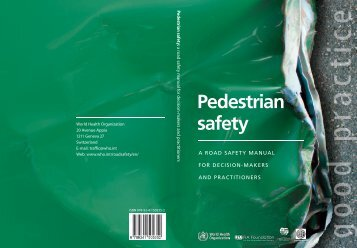 Pedestrian safety - World Health Organization